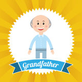 Grandfather design Royalty Free Stock Photo