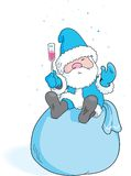 Grandfather Frost Stock Image