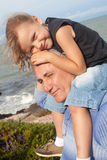 Grandfather and grandchild Stock Photography