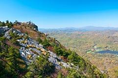 Grandfather Mountain, North Carolina, USA Royalty Free Stock Photo