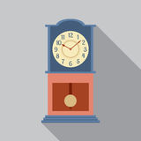 Grandfather Pendulum Clock Royalty Free Stock Image