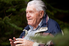 Grandfather Portrait Royalty Free Stock Photography