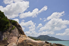 Grandfather rock koh samui thailand Stock Photo