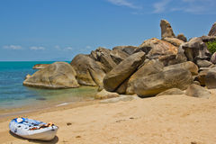 Grandfather rock koh samui thailand Royalty Free Stock Photography