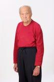 Grandfather senior person standing Stock Photos