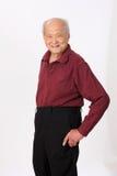 Grandfather senior person standing Stock Photo