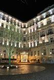 Grandhotel Pupp, Karlovy varieert Royalty-vrije Stock Fotografie