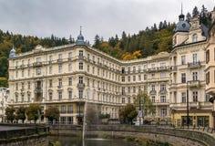 Grandhotel Pupp,Karlovy Vary; Czech republic Stock Images