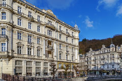 Grandhotel Pupp,Karlovy Vary; Czech republic Stock Photos