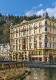 Grandhotel Pupp,Karlovy Vary; Czech republic Stock Photography