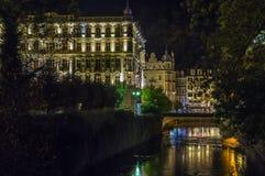 Grandhotel Pupp,Karlovy Vary; Czech republic Stock Image