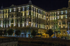 Grandhotel Pupp,Karlovy Vary; Czech republic Royalty Free Stock Photos