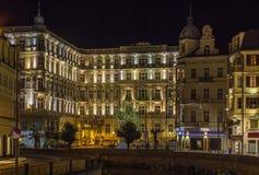 Grandhotel Pupp, Karlovy Vary; Tschechische Republik stockfotos