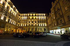 Grandhotel Pupp  in nigh Royalty Free Stock Photography