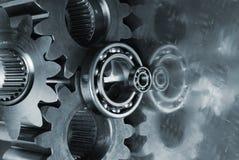 Grandi attrezzo-meccanismo e titanio Immagini Stock Libere da Diritti