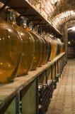 Grandi bottiglie del vino di alta qualità Fotografia Stock