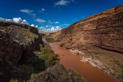 Grandi cadute Arizona Fotografie Stock