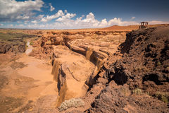 Grandi cadute Arizona Immagine Stock