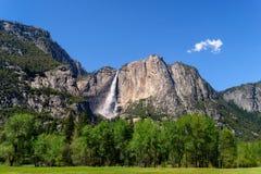Grandi cadute del Yosemite Immagine Stock Libera da Diritti