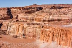 Grandi cadute sceniche Arizona Fotografie Stock Libere da Diritti