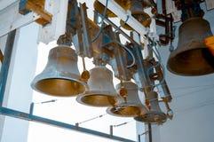 Grandi campane antiche di Kyiv Fotografie Stock