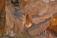 Grandi caverne Fotografia Stock
