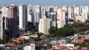Grandi città al giorno, città di Sao Paulo, Brasile video d archivio