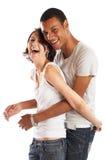Grandi coppie nell'amore fotografia stock