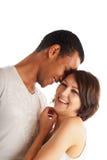 Grandi coppie nell'amore Fotografie Stock Libere da Diritti