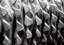 Grandi denti del ferro Fotografia Stock