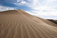 Grandi dune di sabbia S.U.A. Fotografie Stock Libere da Diritti