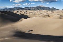 Grandi dune di sabbia sosta nazionale, Colorado, S Fotografia Stock