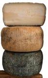 Grandi formaggi Immagine Stock Libera da Diritti