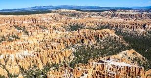 Grandi guglie scolpite via tramite erosione Immagine Stock Libera da Diritti