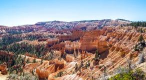 Grandi guglie scolpite via tramite erosione Fotografie Stock Libere da Diritti