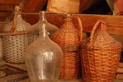 Grandi imbarcazioni del vino Fotografia Stock Libera da Diritti