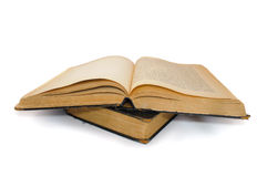 Grandi libri antiquati Fotografie Stock Libere da Diritti