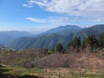 Grandi montagne Immagini Stock