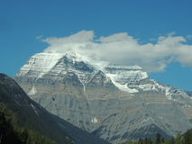 Grandi montagne canadesi Fotografia Stock