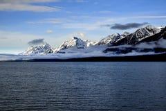 Grandi montagne di Teton Immagine Stock