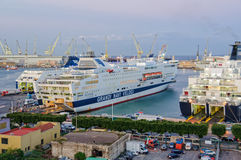 Grandi Navi Veloci Ferries - Palermo Royalty Free Stock Photo