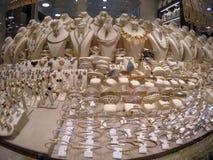 Grandi negozi del bazar di Costantinopoli Fotografia Stock