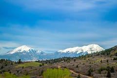 Grandi parco nazionale delle dune di sabbia e prerogativa, Colorado fotografie stock libere da diritti