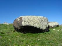 Grandi pietra e cielo Immagini Stock Libere da Diritti