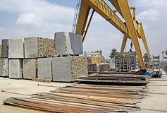 Grandi pietre del granito per elaborare Fotografia Stock Libera da Diritti