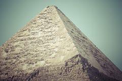 Grandi piramidi egiziane a Giza, Il Cairo Immagini Stock Libere da Diritti