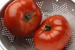 Grandi pomodori freschi Fotografia Stock Libera da Diritti