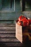 Grandi pomodori rossi RAF Immagine Stock Libera da Diritti