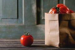 Grandi pomodori rossi RAF Immagini Stock
