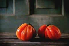 Grandi pomodori rossi RAF Immagine Stock